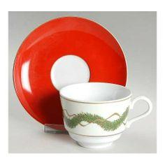 Porcel Noel Flat Cup