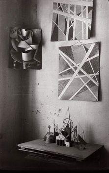 russianavantgarde:  Popova's Studio by Alexander Rodchenko 1924Private collection© A Rodchenko  V Stepanova Archive