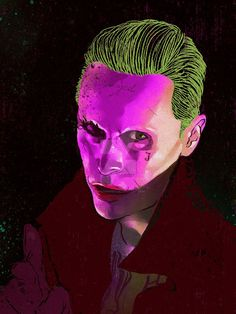 Suicide Squad(2016)-Joker by ymhuang0817
