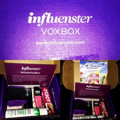 Flower Power! @Influenster Thank You for the Violet VoxBox .. #VioletVoxBox