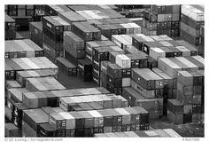 black and white photo shipping container - Google Search