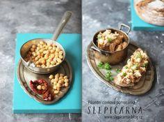 Pikantni_cizrnova_pomazanka Marmalade, Cereal, Oatmeal, Treats, Breakfast, Recipes, Food, The Oatmeal, Sweet Like Candy