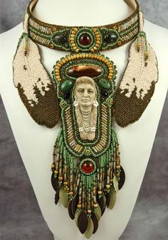 native american bead embroidery...