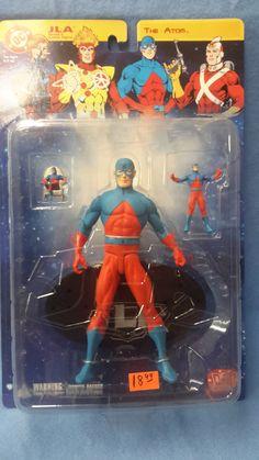 Atom * JLA Action Figure * 3 figures * DC Direct *