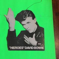 "David Bowie Heroe""s RCA Original Rare Vintage 1978 Mobile Display by RockPostersTreasures on Etsy"