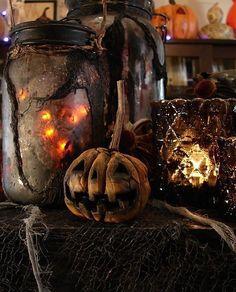 Dark Halloween Decor