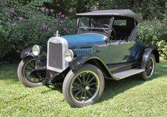 1925 Chevrolet coupe