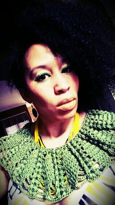 Crochet Collar piece