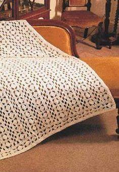 Beautiful Lacy afghan~ Free Crochet Pattern