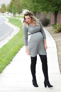 18 Best Babyshower Outfit Images Outfit Ideas Over The Knee Boots