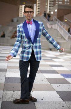 Brad Goreski, NYC | Street Fashion | Street Peeper | Global Street Fashion and Street Style    Please be my boyfriend. Kthanks :)