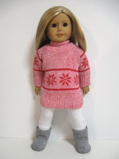 American Girl Doll Clothes  Apres' Ski  Pink by 123MULBERRYSTREET