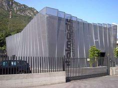 Texo facade by Architectural Textile Systems - Serge Ferrari flexible composite openwork membrane