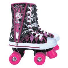 Monster High Rollerskates definitely for Fabi. Monster High Birthday, Monster High Party, Monster High Dolls, Roller Derby, Roller Skating, Love Monster, Skate Party, High Roller, My Princess
