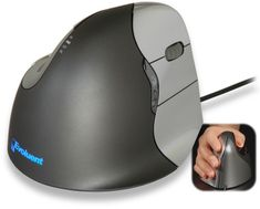 I use a previous version of this at work and I absolutely love it. Takes a few hours to re-train the brain on using a mouse sideways, but after that it is the most comfortable mouse I've ever used.