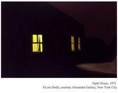 Lois Dodd, NIGHT HOUSE