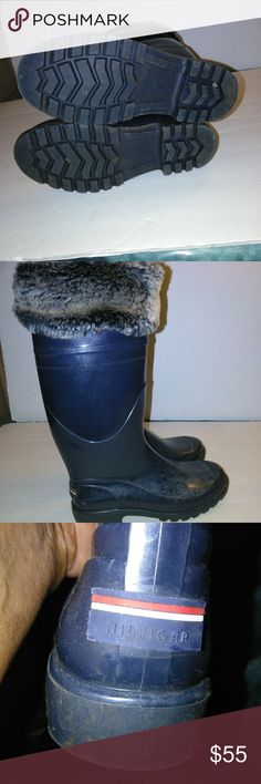 Boots Used but still in good condition Tommy Hilfiger Shoes Winter & Rain Boots