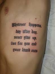 78 Mejores Imágenes De Tatuajes De Frases Para Hombre Famous