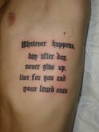 Mejores 78 Imagenes De Tatuajes De Frases Para Hombre En Pinterest