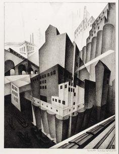 The Diesel Era Lithographs of Louis Lozowick (1920′s to 1940′s) : socks-studio