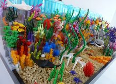 This set celebrates both - the incredible beauty of nature as well as the unbelievable versatility of Lego bricks. It is built on three 32x32 base plates. This set would inclu...