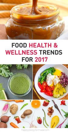 Food, Health & Wellness Trends For 2017