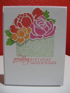 Cupcakes, Cards and Kim: Four Challenges, Two Cards