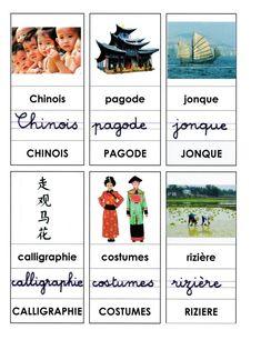 Lexique présenté dans les 3 graphies: Page 1: Chinois, pagode, jonque, calligraphie, costumes, rizière - lexique1.docx - lexique1.pdf