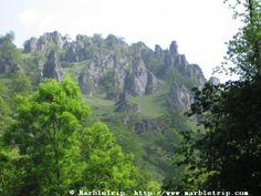 Hell river hike, Peaks of Europe mountains, Asturias.