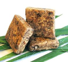 African Raw Black Soap is one of the most beneficial you will ever find. It is a natural source of vitamins A & E, iron and an all-natural cleanser. It