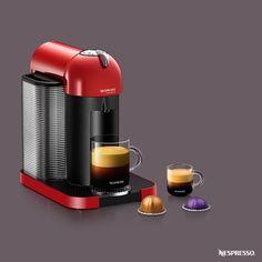 Nespresso VertuoLine Red   Experience the revolution of coffee. Click here to explore the VertuoLine Nespresso machine.