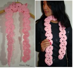 In Bloom Accent Scarf / Fashion Scarf / Soft and Warm by jempanzee {Please find it now in my Etsy Shop} Some Ideas, Everyday Outfits, Scarf Styles, Hugs, Pretty Nails, Crochet Necklace, My Etsy Shop, Bloom, Trending Outfits