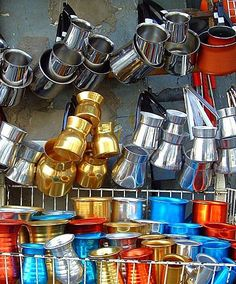 Brikis in Athens, Greece, used for making Greek coffee. Mykonos Greece, Crete Greece, Athens Greece, Santorini, Athens Shopping, Greece Fashion, Coffee Places, Venice Travel, Greek Culture