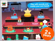 Toca Band is our GFAOTD today and is free for only a limited time! Shout it out from the rooftops!! Lisa M