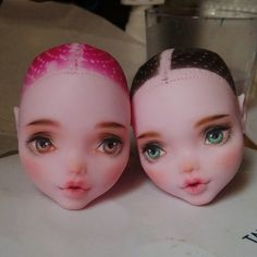 #monsterhigh #doll #dollrepaint #ooak #handmade #handpaint #bjd #faceup