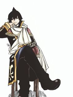 Zeref aka my love hate relationship in Fairy Tail