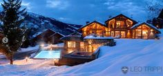 Undoubtedly one of the most luxurious chalets in #Meribel