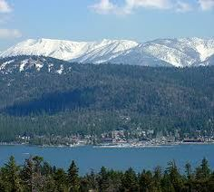 Big Bear Lake. A short drive from where we lived in so. california.