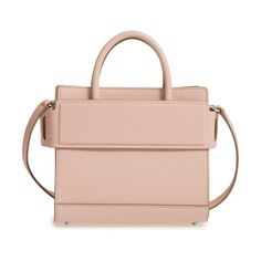 mini horizon grained calfskin leather tote by Givenchy. Finely pebbled calfskin leather is beautifully crafted into a compact Givenchy tote detailed with signature logo embo...