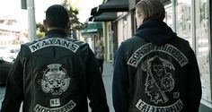 Sons of Anarchy - The Sons and the Mayans united