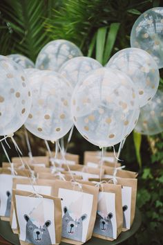 kids favor bags for wedding