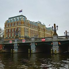 #amstelhotel #amsterdam seen from the #amstel
