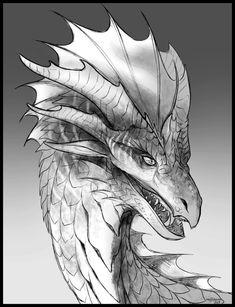 Galidor - Trade by May-Ya Dragon Nest, Dragon 2, Fantasy Dragon, White Dragon, Realistic Dragon Drawing, Cool Dragons, Wings Of Fire, Dragon Design, Mythological Creatures