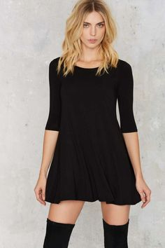 Whatever It Takes Tee Dress   Shop Clothes at Nasty Gal!