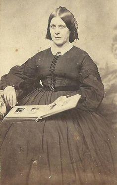 CDV Photo Lovely Older Woman Mrs Pratt, Mother's friend Tax Stamp Baraboo WI    eBay