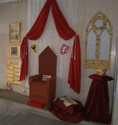 Výzdoba vchodu školy -  Karel IV. 700 let. Czech Republic, Curtains, Painting, Home Decor, Blinds, Decoration Home, Room Decor, Painting Art, Paintings