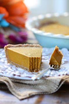 Allergy-friendly Taste Buds: Vegan No-Bake Pumpkin Pie