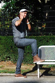 DJ David Moka en sneaker TORANJA