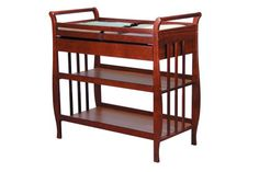 DaVinci Emily Baby Changing Table - Cherry  -Click image twice for more info - See a  larger selection of diaper changing tables at http://zbabyproducts.com/product-category/diaper-changing-tables/ -baby,kids,child, nursery,infant,baby products, baby gift ideas