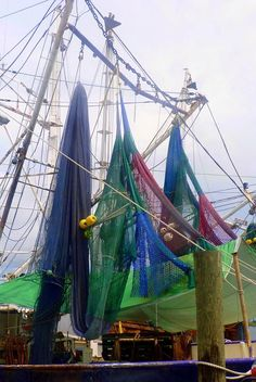 ✮ Colorful Shrimp Boat Nets